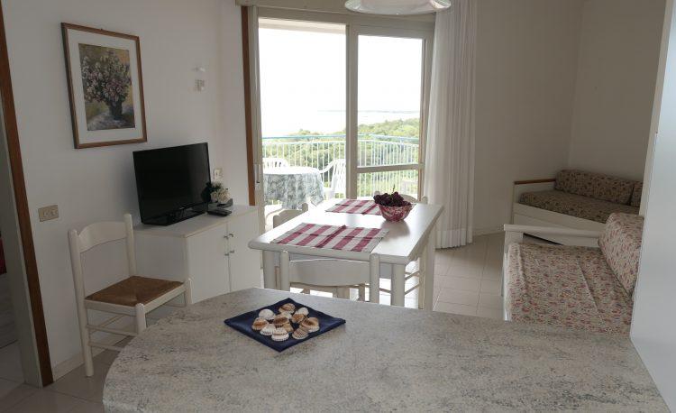 Appartamento con terrazzo vista mare a Lignano