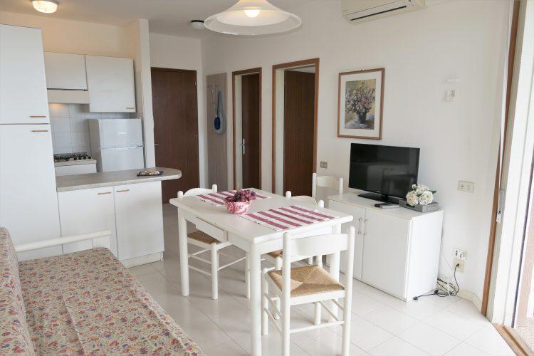 Appartamenti moderni in Bianco Nero a Lignano