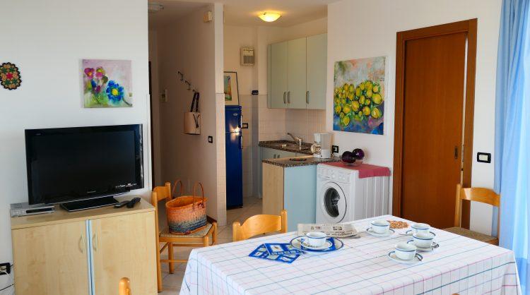 Appartamento residence Bianco Nero a Lignano